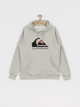 Bluza z kapturem Quiksilver Comp Logo Screen HD (athletic heather)