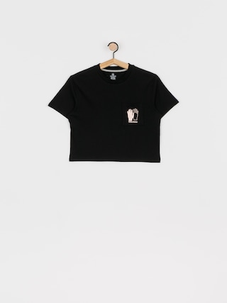 T-shirt Volcom Pocket Dial Wmn (black)