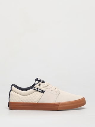 Buty Supra Stacks Vulc II (bone/navy gum)