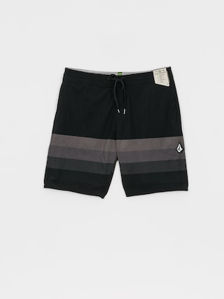 Boardshorty Volcom Quarta Static Stoney (black)