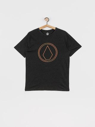 T-shirt Volcom Pinner Hth (heather black)
