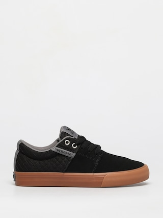 Buty Supra Stacks Vulc II (black/grey gum)