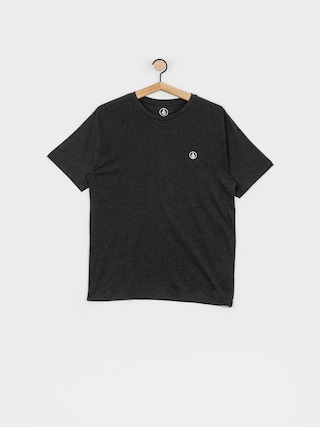 T-shirt Volcom Circle Blanks Hth (heather black)