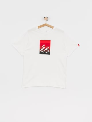 T-shirt eS Block Gradient (white)
