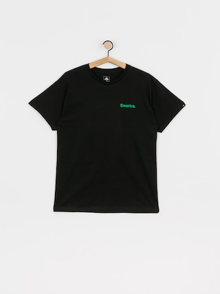T-shirt Emerica Pure Triangle (black/green)