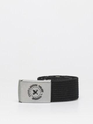Pasek Nervous Round (black/silver)