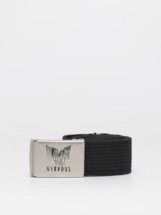 Pasek Nervous Spill (black/silver)