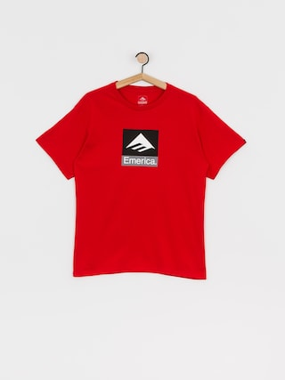 T-shirt Emerica Classic Combo (red)