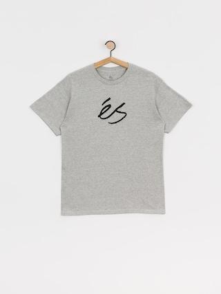 T-shirt eS Scrip Mid (grey/heather)