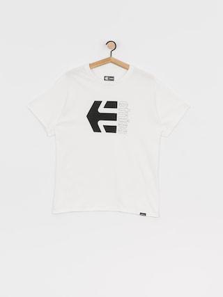 T-shirt Etnies Corp Combo (white)