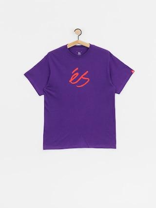 T-shirt eS Scrip Mid (purple)