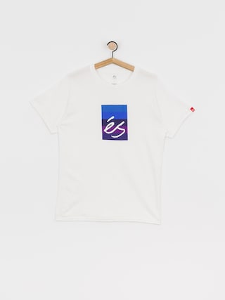 T-shirt eS Block Gradient (white/purple)