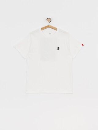 T-shirt eS Duo Block (white)