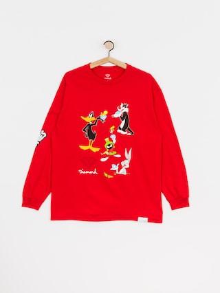 Longsleeve Diamond Supply Co. Looney Tunes (red)