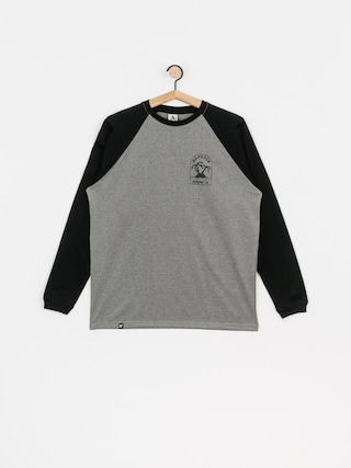 Longsleeve Nervous Island (grey/black)