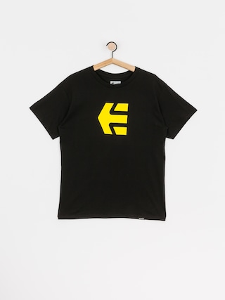 T-shirt Etnies Icon (black/yellow)