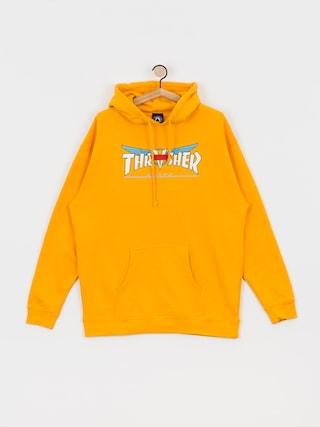 Bluza z kapturem Thrasher Venture Collab HD (gold)
