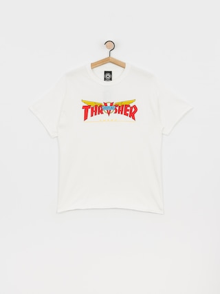 T-shirt Thrasher Venture Collab (white)
