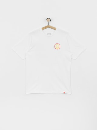 T-shirt Spitfire Clsc Swrl (white/red/yellow)