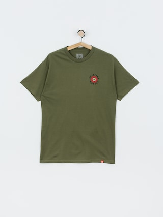 T-shirt Spitfire Og Clsc Fl (military green/red)