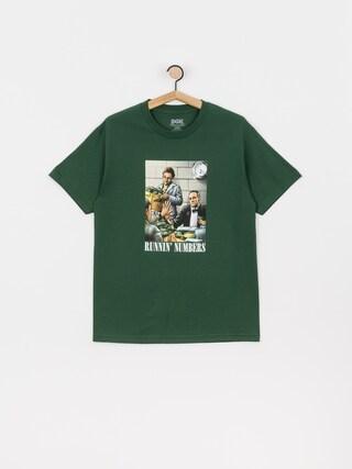 T-shirt DGK Runnin Numbers (forest)