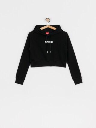 Bluza z kapturem Prosto Croppie HD Wmn (black)