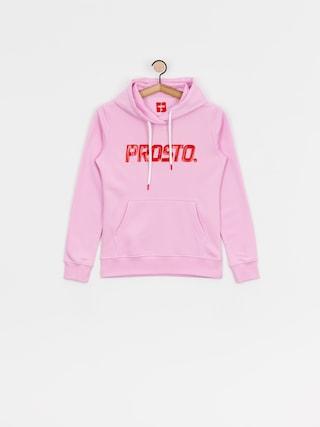 Bluza z kapturem Prosto Claho HD Wmn (pink)