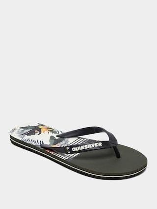 Japonki Quiksilver Molokai Jungle Swell (black/white/black)