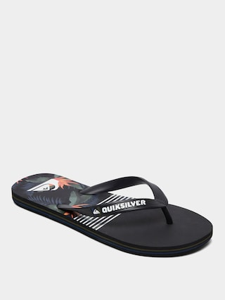 Japonki Quiksilver Molokai Jungle Swell (black/grey/black)