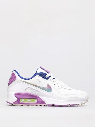 Buty Nike Air Max 90 Se Wmn (white/multi color purple nebula)