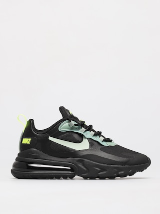 Buty Nike Air Max 270 React (black/pistachio frost silver pine volt)