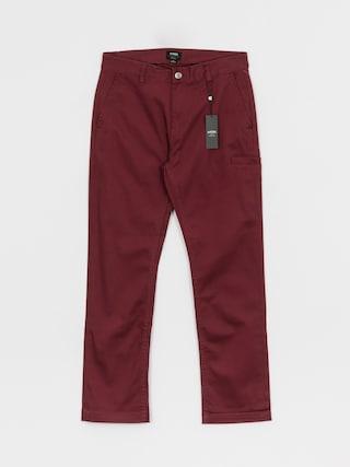 Spodnie Etnies Essential Straight Chino (burgundy)