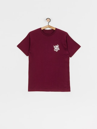 T-shirt Brixton Cruz Stt (burgundy)