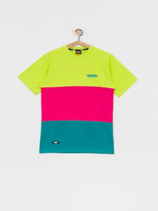 T-shirt MassDnm Zone (mint/magenta/yellow)