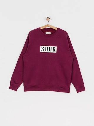 Bluza Sour Solution Sour Patch Crew (burgundy)