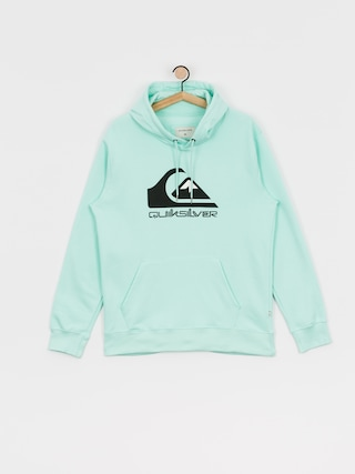 Bluza z kapturem Quiksilver Comp Logo Screen HD (beach glass)