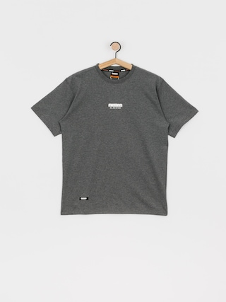 T-shirt MassDnm Classics Small Logo (dk heather grey)