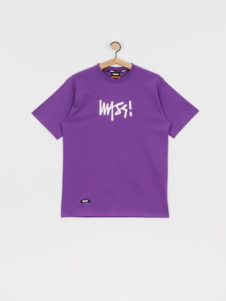 T-shirt MassDnm Signature Medium Logo (purple)