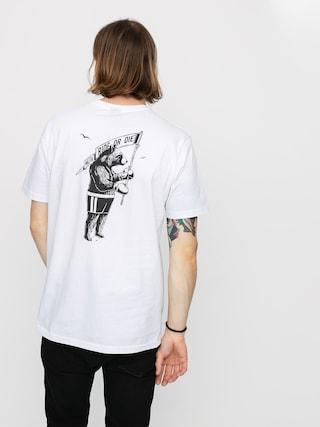 T-shirt Malita Bear Pocket (white)