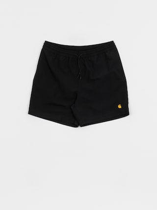 Boardshorty Carhartt WIP Chase Swim (black/gold)