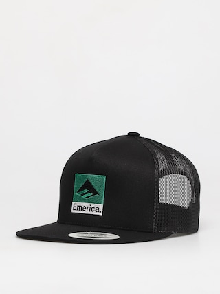 Czapka z daszkiem Emerica Classic Snapback ZD (black/green)