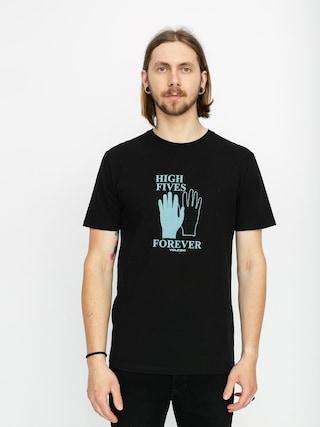T-shirt Volcom High5 Forever Ltw (black)