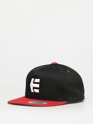 Czapka z daszkiem Etnies Icon Snapback ZD (black/red)