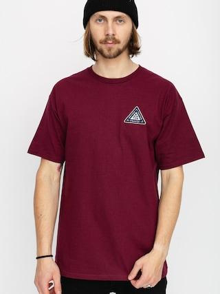 T-shirt Brixton Fulcrum Stt (burgundy)