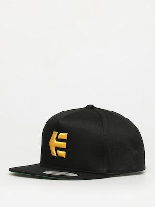 Czapka z daszkiem Etnies Icon Snapback ZD (black/yellow)