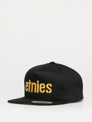 Czapka z daszkiem Etnies Corp Snapback ZD (black/yellow)