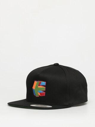 Czapka z daszkiem Etnies Cube Snapback ZD (black)