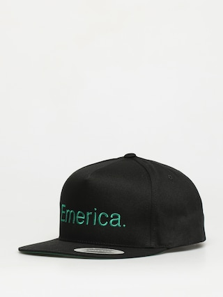 Czapka z daszkiem Emerica Pure Snapback ZD (black/green)