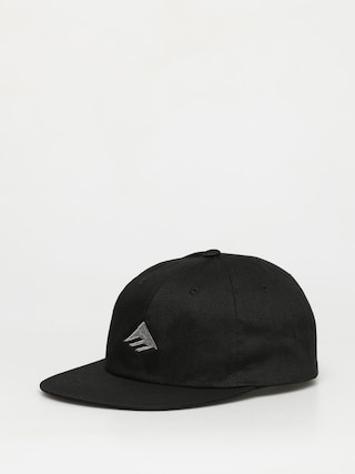 Czapka z daszkiem Emerica Triangle Low Snapback ZD (black)