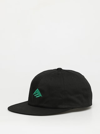 Czapka z daszkiem Emerica Triangle Low Snapback ZD (black/green)